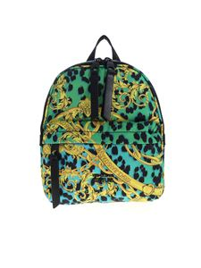 Versace Jeans Couture - Leo Chain print logo backpack