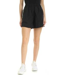 Adidas Originals - Contrasting logo bands shorts in black