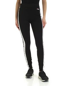 Fila - Tasya leggings in black and white