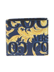 Versace Jeans Couture - Baroque Jewels wallet in blue