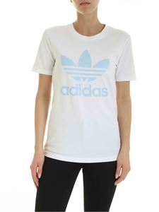Adidas Originals - Trefoil t-shirt in white