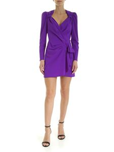 Dondup - V-neck mini dress in purple