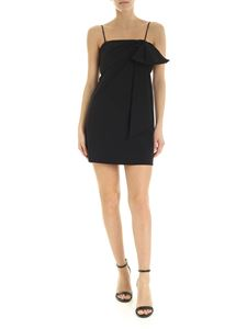 Dondup - Maxi bow mini dress in black