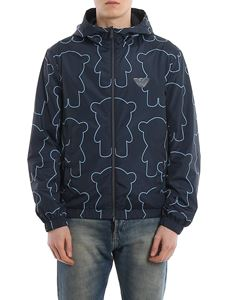 Emporio Armani - Reversible hooded jacket