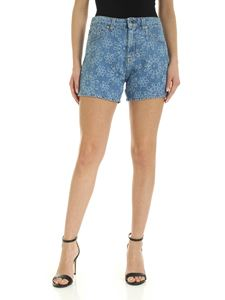 Love Moschino - 5 pocket Shorts in blue
