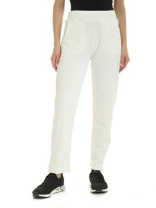 Woolrich - Pants in white with tone-on-tone logo