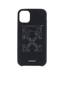 Off-White - I Phone 11 Puzzle Cover in black