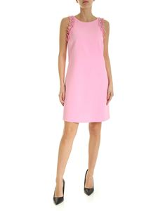 Ermanno by Ermanno Scervino - Rhinestones and ruffles short dress in pink