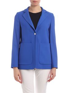 Fay - Button jacket in electric blue