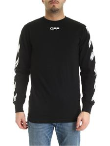 Off-White - Airport Tape sweatshirt in black
