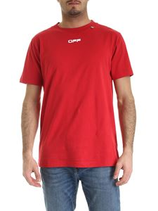 Off-White - Caravaggio T-shirt in red