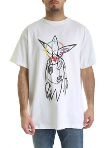 Off-White - Futura Alien T-shirt in white