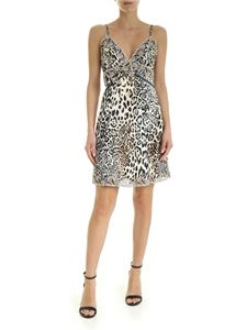 Ermanno Scervino - Animal print petticoat dress in beige