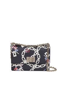 Furla - 1927 small chain patterned bag