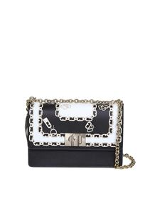Furla - 1927 mini chain patterned leather bag