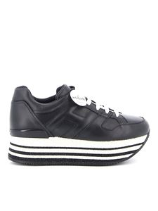 Hogan - Maxi H222 leather sneakers