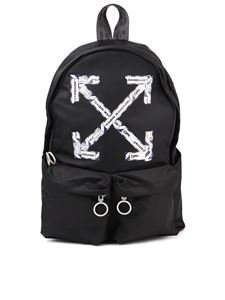 Off-White - Airport tape backpack