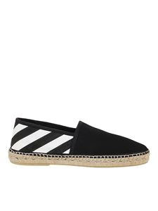 Off-White - Diag print espadrillas