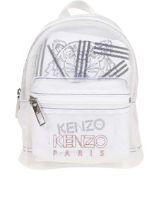 Kenzo - Tiger mini white backpack