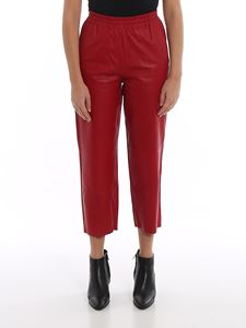 Pinko - Toast pants in red