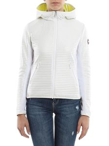 Colmar Originals - Quilted techno fabric hooded jacket