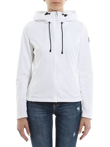 Colmar Originals - Stretch techno fabric jacket in white