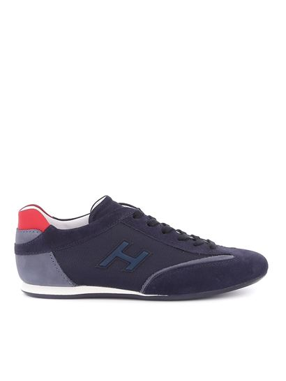Hogan - Olympia sneakers in blue and red