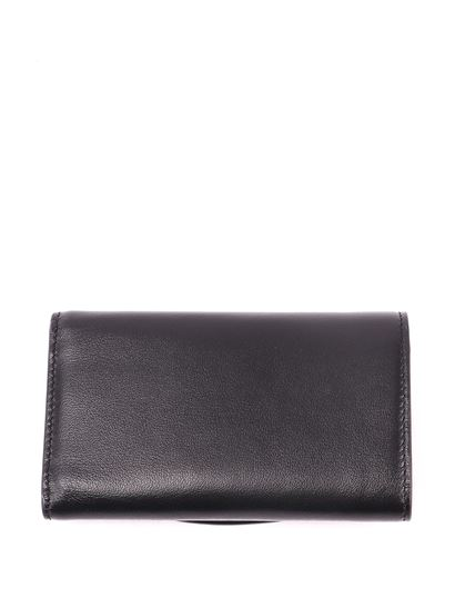 Tod's - Embossed logo leather wallet