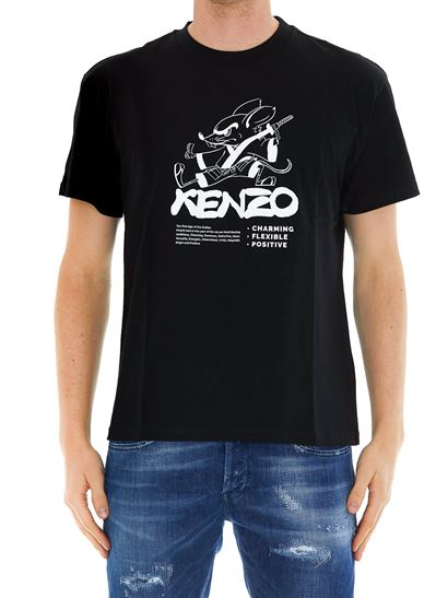 Kenzo - Kung Fu Rat T-shirt in black