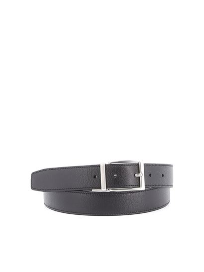 Tod's - Reversible leather belt