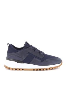 Tod's - Mesh and nubuck sneakers