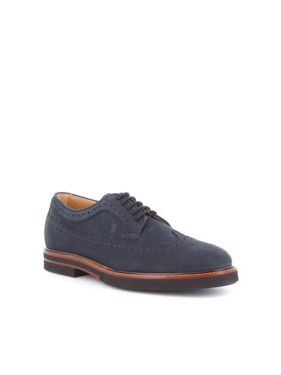 Tod's - Brogue shoes in blue