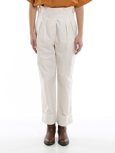See by Chloé - Drill high rise cargo trousers