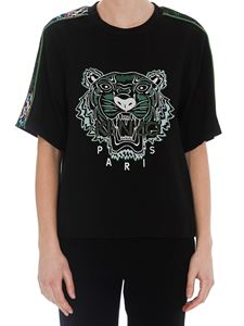 Kenzo - Classic Tiger Sea Lily black T-shirt