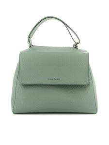 Orciani - Sveva pebbled leather medium bag