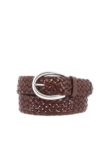 Orciani - Masculine woven leather belt