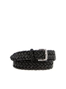 Orciani - Spin woven leather belt