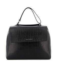 Orciani - Sveva Kindu black medium bag