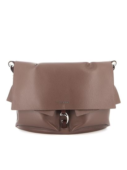 Orciani - Scout Micron pebble leather bag