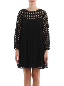N° 21 - Perforated flared dress