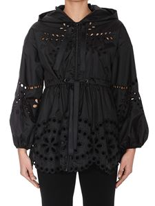 Red Valentino - Broderie anglaise jacket