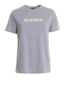 Aspesi - Slim fit T-shirt with lettering