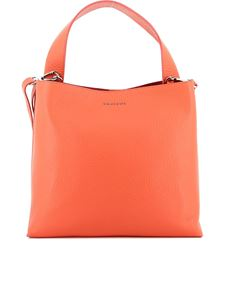 Orciani - Jackie Soft coral leather shoulder bag