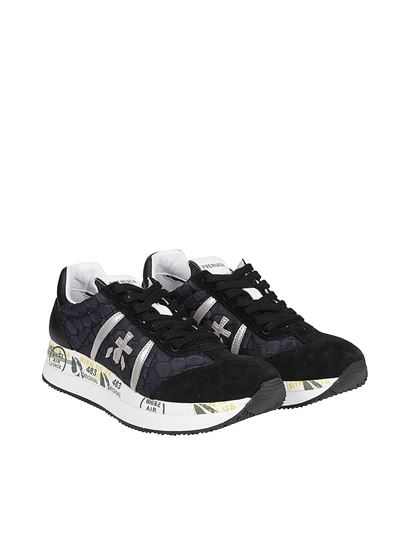 Premiata - Sneakers Conny in multi materiale