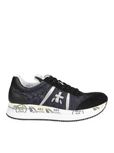 Premiata - Mixed materials Conny sneakers