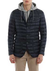 Herno - Padded blazer with detachable double front