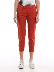 Fay - Stretch poplin pants