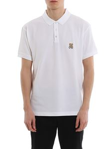 Moschino - Teddy Bear logo embroidery piqué polo