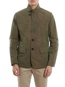 Fay - Peached techno fabric jacket
