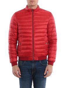 Herno - Quilted fabric puffer jacket